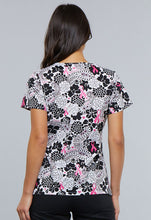 Cherokee Women's Breast Cancer Awareness Print Top (Paisley Love)