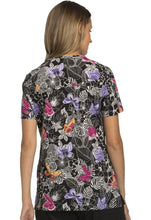 Cherokee Women's Print Top (  Flutter You Waiting For? )