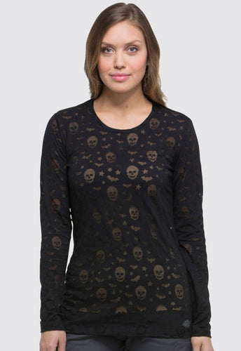 Dickies Women's Halloween T-Shirts ( Black )