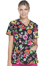 Dickies Women's Butterfly Print Top (Flower Festival)