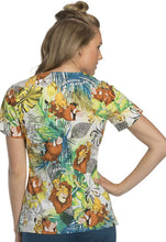 Tooniforms by Cherokee ( Lion King Savanna Friends ) Print Top