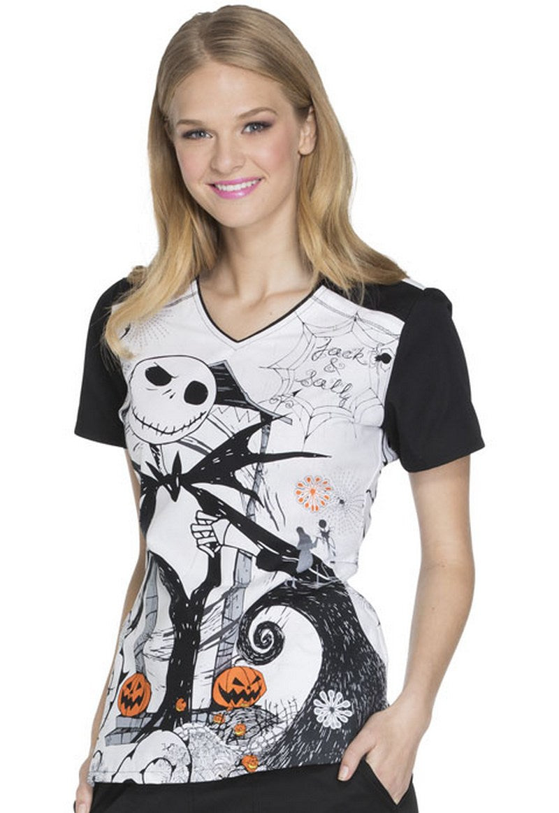 disney womens halloween print top inseparable