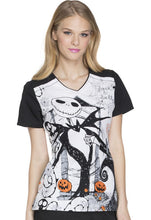 Disney Women's Halloween Print Top (  Inseparable )