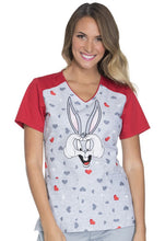 Tooniforms Women's Bugs BUnny Print Top