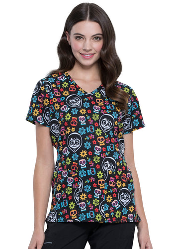 Disney Halloween COCO V-Neck Top (Remember Me)