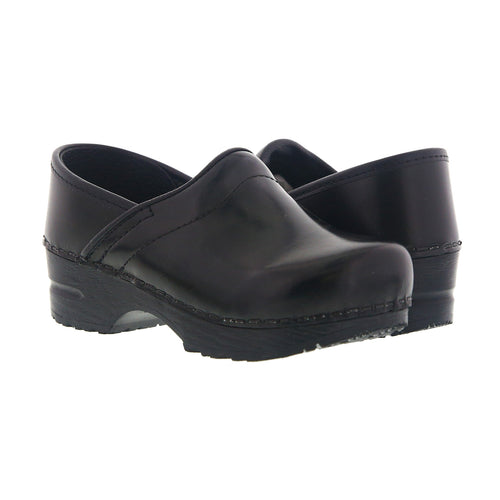 Sanita Synthetic Leather Clog (Cabrio)