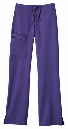 Jockey Tri-Blend Zipper Pant (Purple)