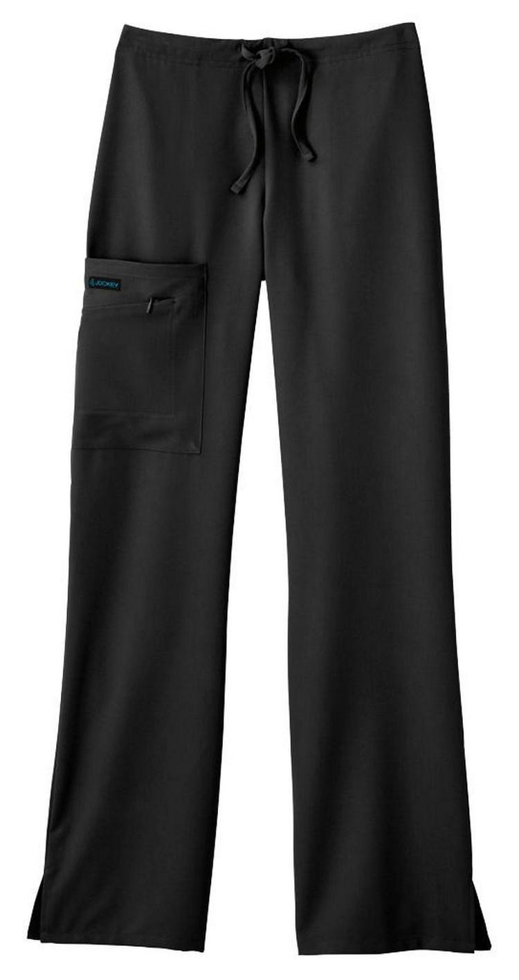 Jockey Tri-Blend Zipper Pant (Black)
