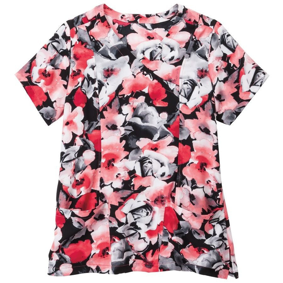 Jockey Scrub Top (Interpretations Hibiscus)