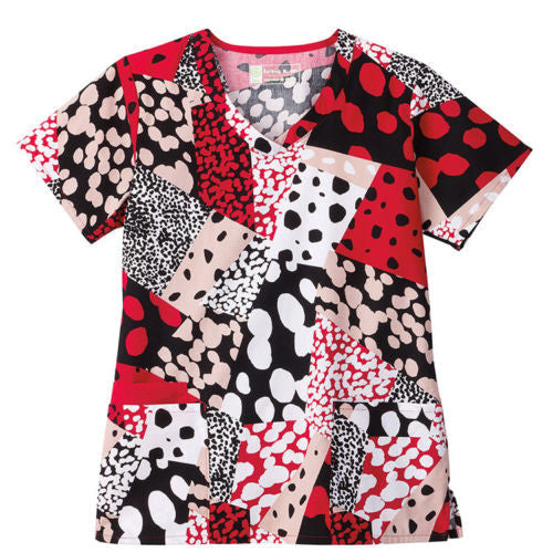 Bio Women's Print Top (Dandy Dots)