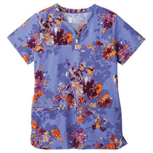 Bio Women's  Print Top ( Iris Shadow )