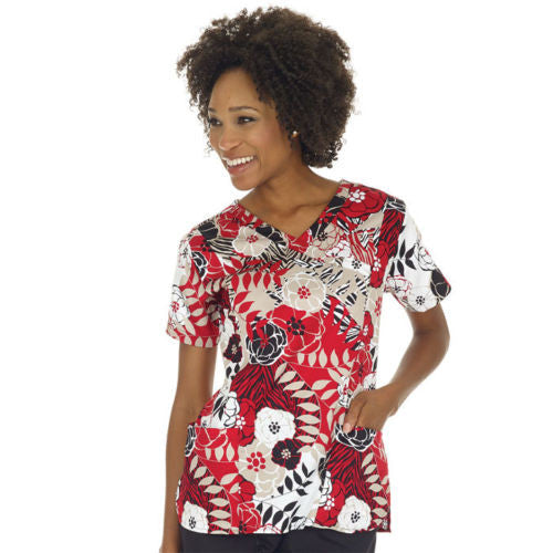 Bio Women's Print Top ( Wilder Side )