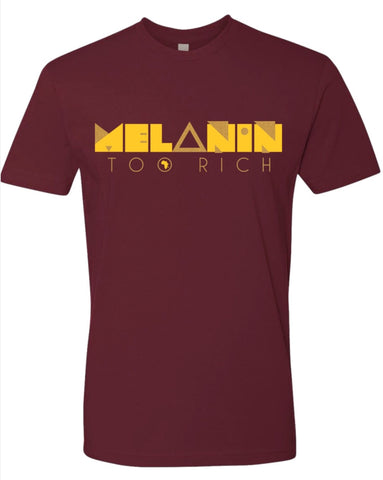 Men's Maroon and Gold Tee