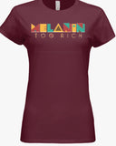Women's Maroon Retro Tee