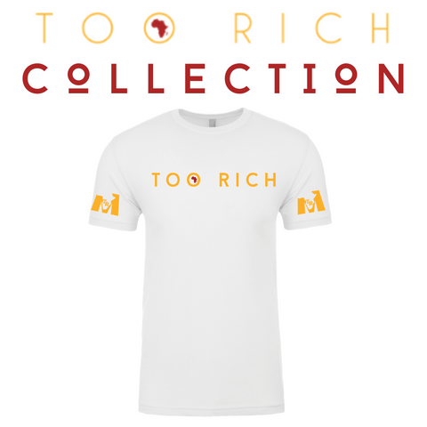 Too Rich Men's Tee (White)