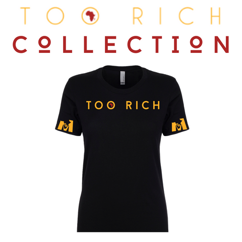 Too Rich Women's Black Tee