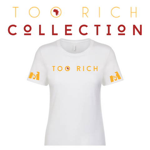 Too Rich Women's Tee (White)
