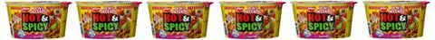 Nissin Hot & Spicy Shrimp Bowl - 6 Pack-Nissin-pantryperks