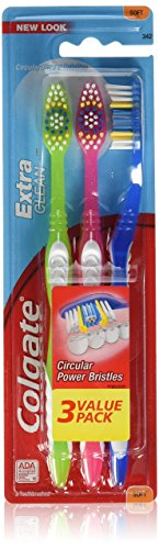 Colgate Extra Clean Full Head Toothbrush - Soft - 3 Count-Colgate-pantryperks