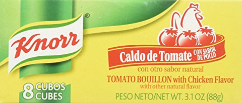 Knorr Bouillon Cubes - Tomato Chicken - 8 ct-Knorr-pantryperks