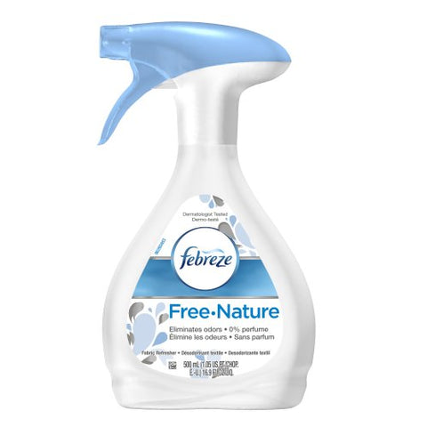 Febreze Air Freshener - Fabric Refresher Air Freshener - Free Nature - 16.9 Ounce-Febreze-pantryperks