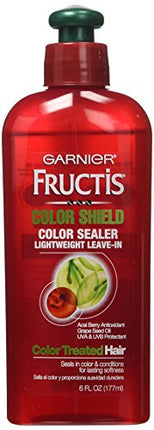 Garnier Fructis Color Sealer - Instant - Lightweight Leave-In - Color Shield - For Color-Treated Hair - 6 oz.-Garnier-pantryperks