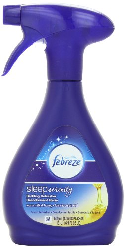Febreze Sleep Serenity Bedding Refresher - Fabric Refresher - Warm Milk & Honey - 1 Count - 500 Ml - 16.9 Ounce-Febreze-pantryperks