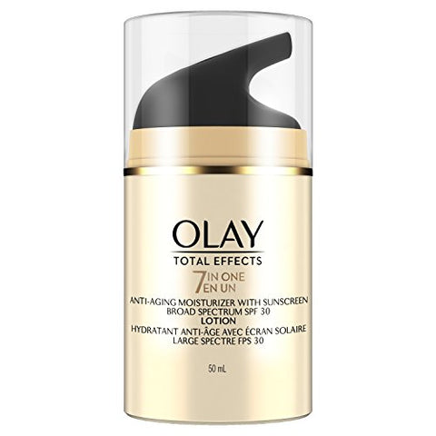 Olay Total Effects 7-in-1 Anti-Aging Daily Face Moisturizer With SPF 30 - 1.7 fl oz-Olay-pantryperks