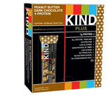 KIND Peanut Butter Dark Chocolate Plus Protein Bars - 1.4 Ounce - 12 Count-Kind Healthy Snacks-pantryperks