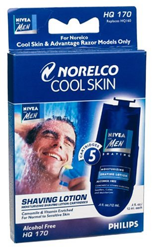 Philips Norelco HQ170 Cool Skin Nivea for Men Lotion Replacement Cartridge-Norelco-pantryperks