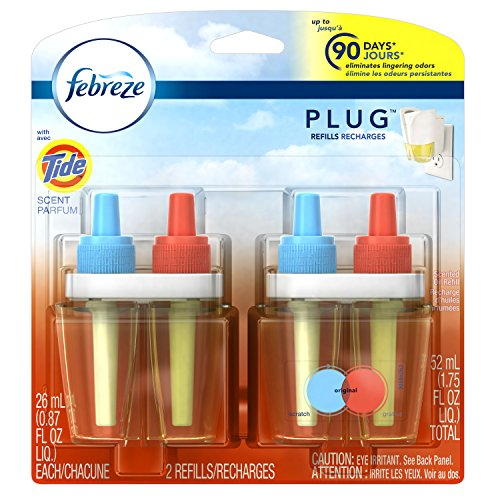 Febreze PLUG Air Freshener Refills with Tide Original - 2 Count - 1.75 oz-Febreze-pantryperks