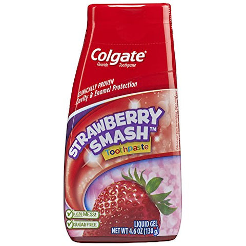 Colgate Kids 2-in-1 Toothpaste and Mouthwash - Strawberry - 4.6 fluid ounce-Colgate-pantryperks