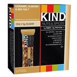 KIND Bars - Caramel Almond and Sea Salt - Gluten Free - 1.4 Ounce Bars - 12 Count-Kind Healthy Snacks-pantryperks