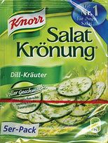Knorr Salat Kronung Dill-Krauter - Salad Herbs and Dill - 5-Count Packets-Knorr-pantryperks