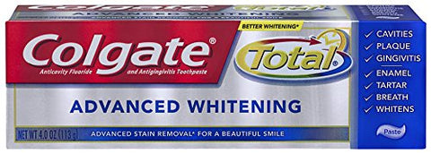Colgate Total Advanced Whitening Toothpaste - Paste - 4 Ounce-Colgate-pantryperks