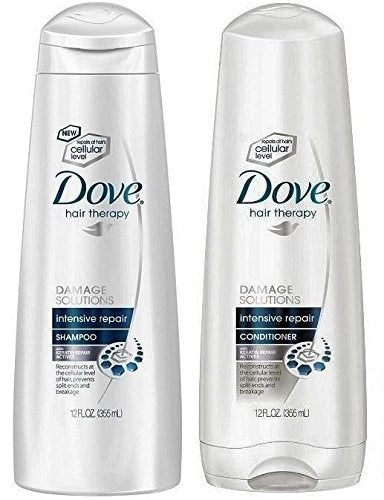 - Duo Set Dove Damage Therapy Intensive Repair - Shampoo & Conditioner - 12 Oz. bottles-Dove-pantryperks