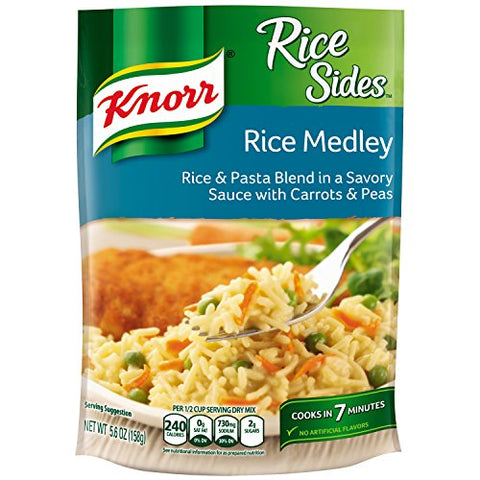 Knorr Rice Sides Rice Side Dish - Rice Medley 5.6 oz-Knorr-pantryperks