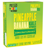 Pressed by KIND Fruit Bars - Pineapple Banana Kale Spinach - 12 Count-Kind Healthy Snacks-pantryperks