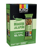 KIND Roasted Jalepeno Sweet and Spicy Bar - 10g Protein-Kind Healthy Snacks-pantryperks