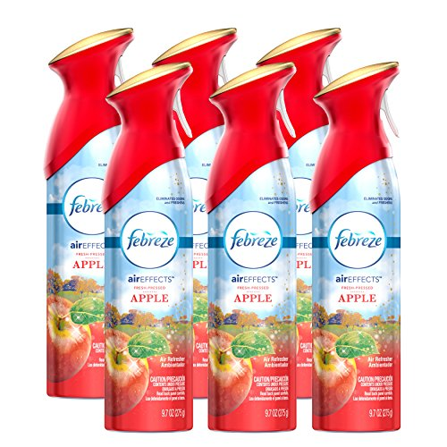 Febreze Air Effects Fresh Pressed Apple Air Freshener - 9.7 oz - 6 Pack-Febreze-pantryperks