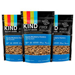 KIND Healthy Grains Granola Clusters - Vanilla Blueberry with Flax Seeds - Gluten Free - 11 Ounce Bags - 3 Count-Kind Healthy Snacks-pantryperks