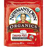 Newman's Own Organics Organic Cinnamon - Mints - Case Of 8 - 5 Oz.