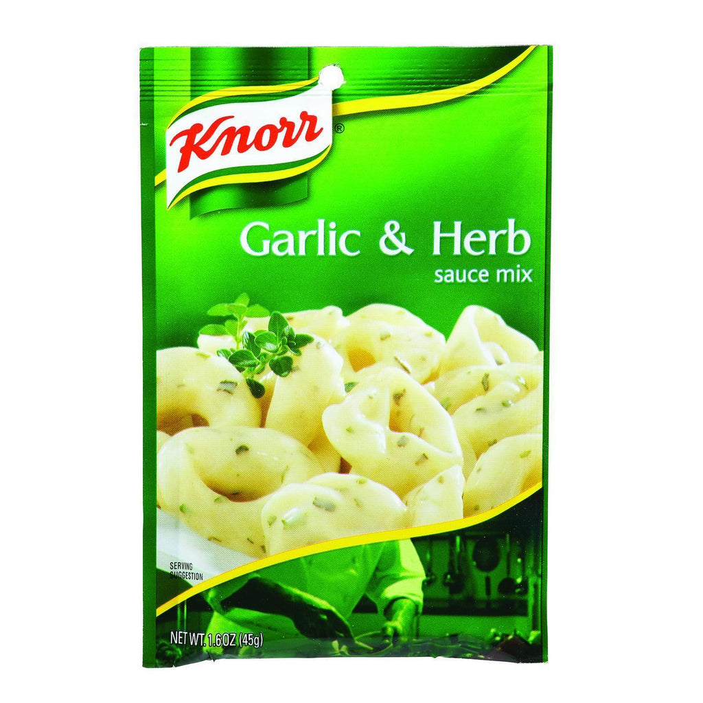 Knorr Sauce Mix - Garlic And Herb - 1.6 Oz - Case Of 12-Knorr-pantryperks