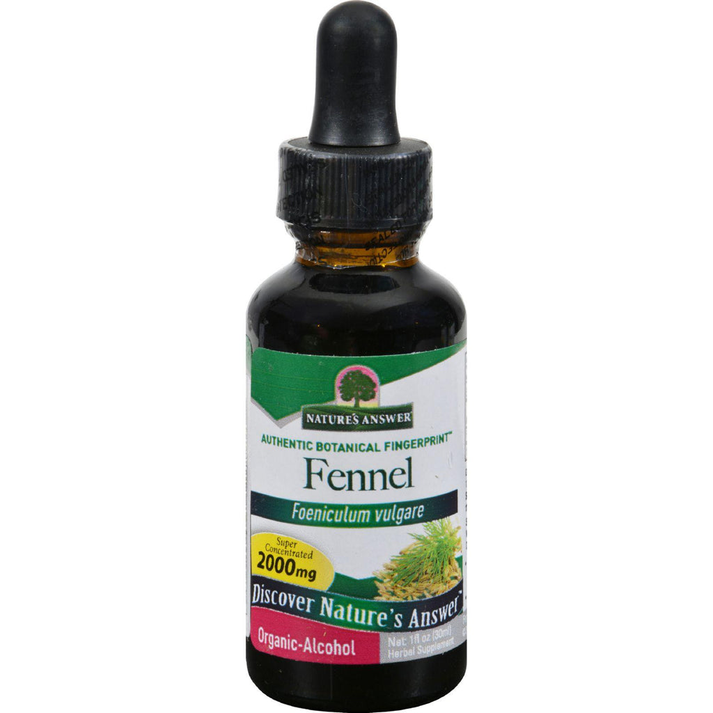 Nature's Answer Fennel Seed - 1 Fl Oz-Nature's Answer-pantryperks