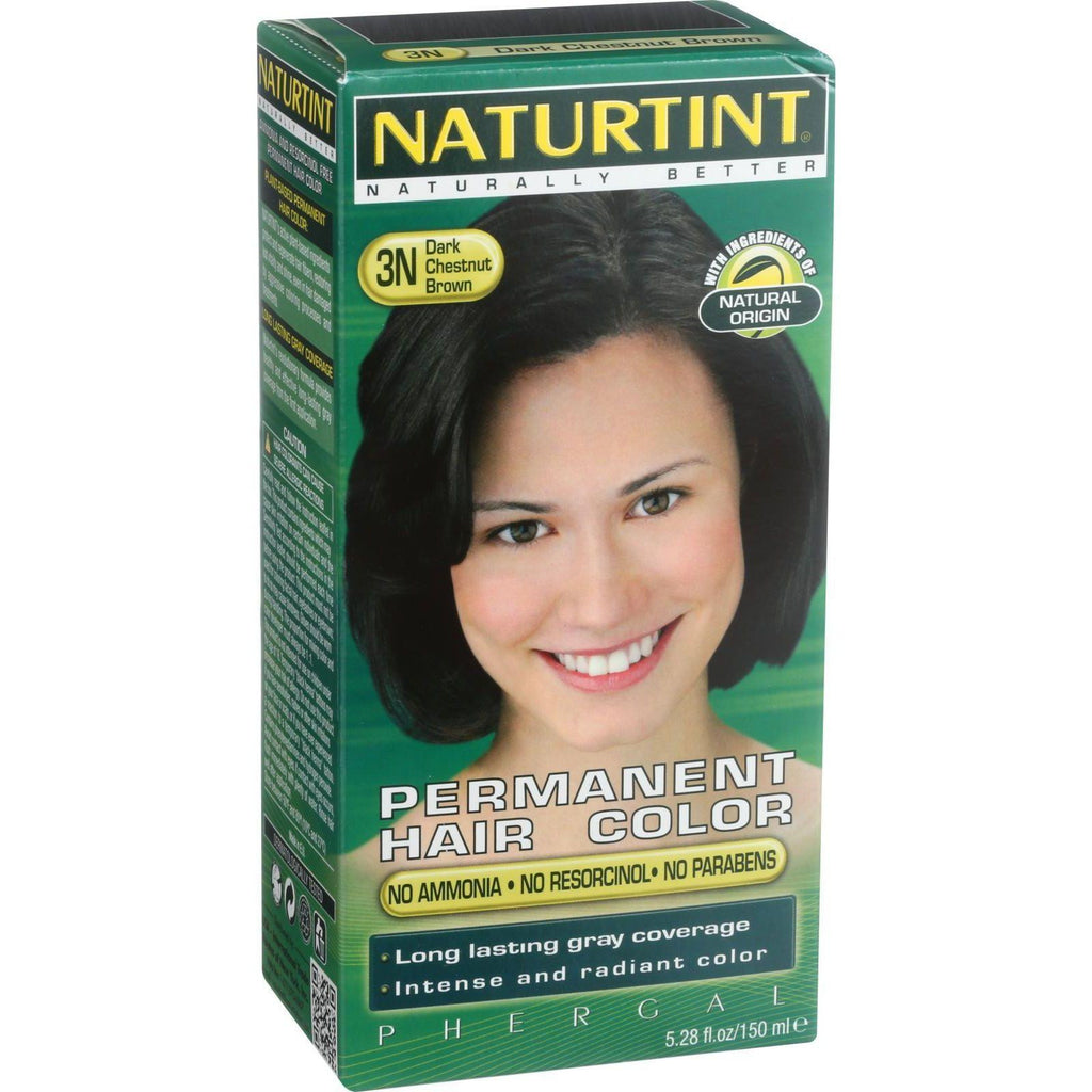 Naturtint Permanent Hair Colorant - Dark Chestnut Brown 3N-Naturtint-pantryperks