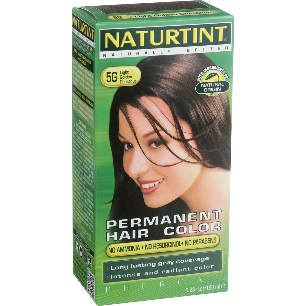 Naturtint Permanent Permanent Hair Colors Light Golden Chestnut - 5G 5.28 oz-Naturtint-pantryperks