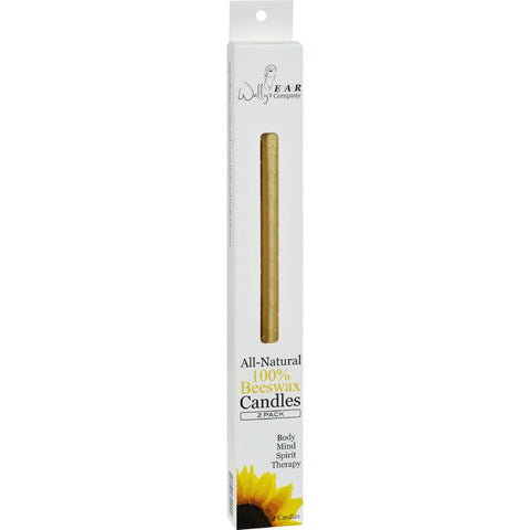 Wally's Beeswax Ear Candle - 2 Candles-Wally's Natural Products-pantryperks