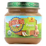 Earth's Best Organic Baby Food Stage 2 Pears - 4 oz-Earth's Best-pantryperks