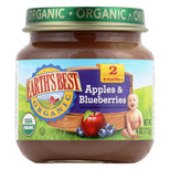 Earth's Best Organic Baby Food Stage 2 Apples and Blueberries - 4 oz-Earth's Best-pantryperks