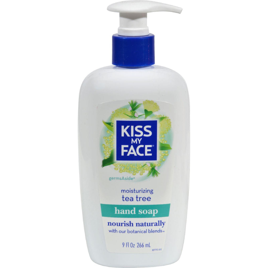 Kiss My Face Moisturizing Hand Soap Tea Tree - 9 fl oz-Kiss My Face-pantryperks